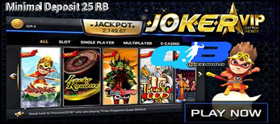 Situs Judi Slot Online Deposit 25rb Termurah