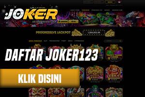 Situs Daftar Joker123 Online Terpercaya