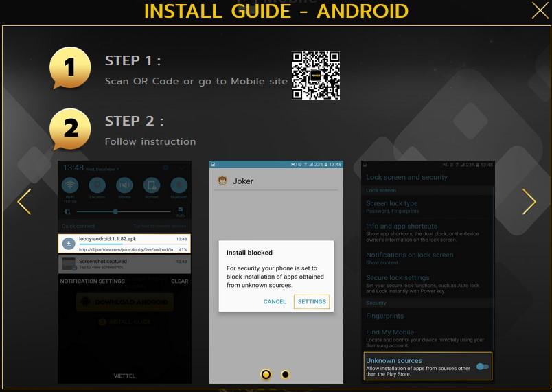 cara download aplikasi joker123